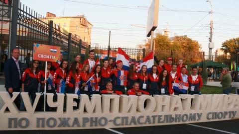 Чемпионат мира по пожарно-спасательному спорту официально открылся
