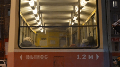 Остановлены трамваи девятого маршрута