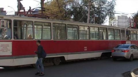 Сокращен маршрут трамвая № 11