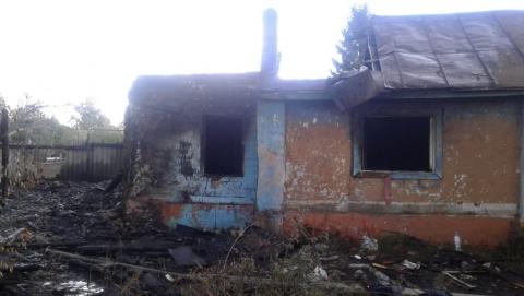 Сегодня в Аткарске на пожарище нашли сильно обгоревший труп