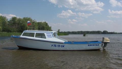 В Затоне взорвалась лодка
