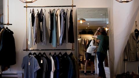 Вора-рецидивиста задержали за серийный шоплифтинг