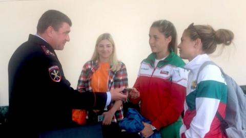 У болгарской участницы чемпионата по пожарному спорту в Саратове украли телефон