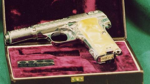 В Саратов привезли коллекцию оружия Леонида Брежнева