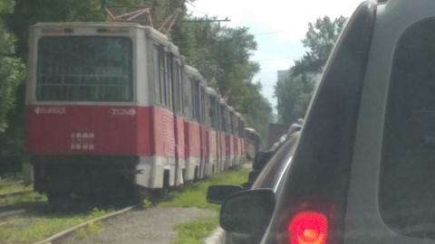 В Саратове прервано движение трамваев 11-го маршрута