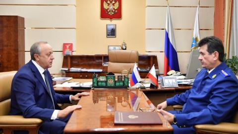 Радаев рассказал заместителю генпрокурора о ситуации в регионе