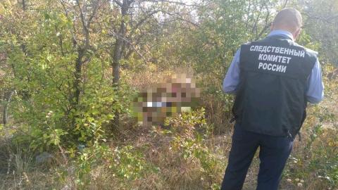 Труп молодой женщины нашли в нескольких метрах от ее дома
