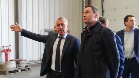 Руководитель РЭО осмотрел Энгельсский Экотехнопарк