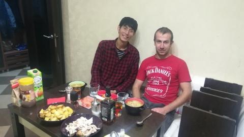 Кореец, едущий на мотоцикле из Сеула в Европу, побывал в Саратове