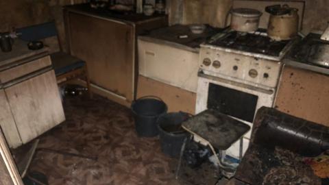 В Петровске во время пожара задохнулись двое мужчин