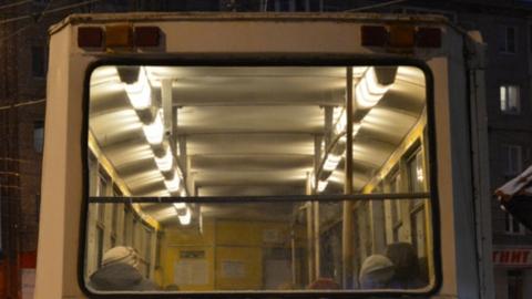 Отменены последние дежурные рейсы трамвая № 9