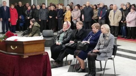 В Саратове простились с Тамарой Гродсковой