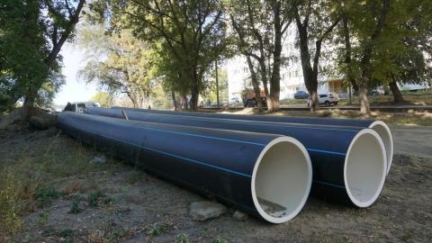 Новый водопровод по Огородной прослужит не менее 50 лет