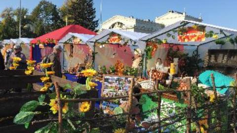 Ярмарки выходного дня на Театральной площади в субботу не будет