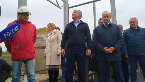 Вячеслав Володин: «Подрядчики, которые срывают срок, окажутся в черном списке»