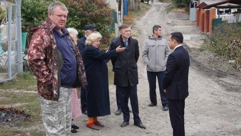 «КВС» отремонтировали водопровод в Октябрьском районе Саратова