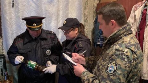Экспертиза установила насильственную смерть найденного в Вольске мужчины