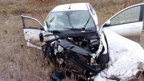 Три человека насмерть разбились в аварии на поселковой дороге