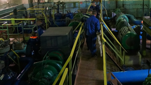 КВС заменит оборудование насосной станции