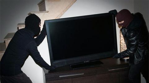 Квартиранты «прихватили» телевизор из съёмного жилья