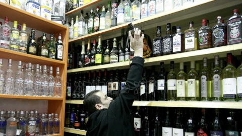 Наркомана уличили в краже двух бутылок виски