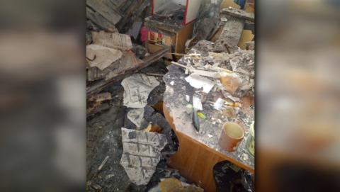 Чиновники: квартира, в которой рухнул потолок, не является муниципальной
