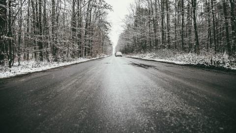 МЧС: ночью на дорогах Саратовской области будет скользко