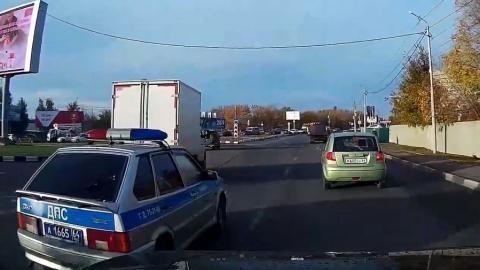 Сотрудников ДПС обвинили в нарушении правил дорожного движения
