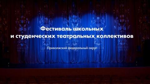 Жители области смогут увидеть видеоверсии спектаклей фестиваля «Театральное Приволжье»
