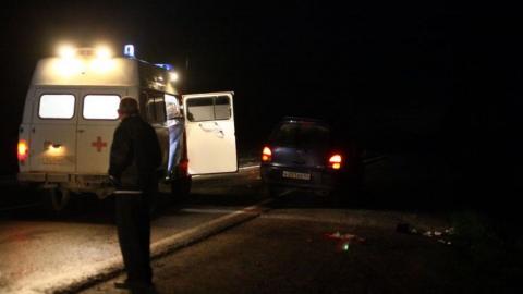 Погибла женщина, ранены пятеро мужчин. В Петровском районе открыт сезон страшных зимних аварий