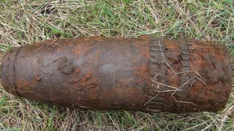 В Ленинском районе Саратова нашли старый снаряд