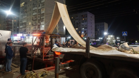 КВС реконструирует наиболее изношенный участок водопровода на улице Чернышевского