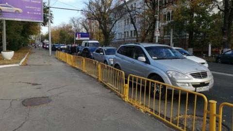 Массовая авария у заводской проходной перекрыла выезд из Ленинского района