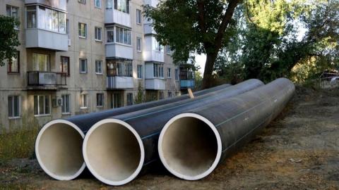 «КВС» проложили полкилометра нового водопровода на Огородной