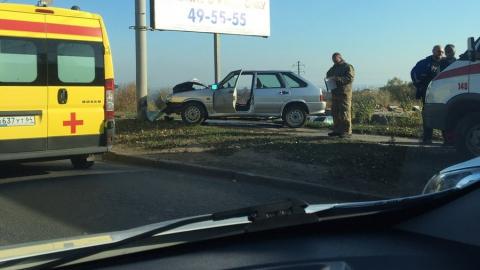 Двое мужчин ранены в аварии