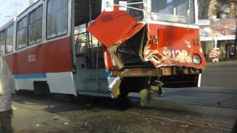 Из-за аварии остановлен 9-й маршрут трамвая