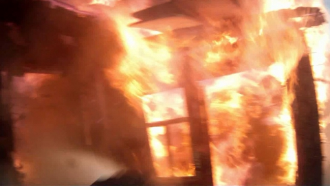 На пожаре в Энгельсе погиб мужчина