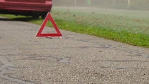 Машина сбила игравшего во дворе первоклассника