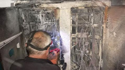 Один человек обгорел в пожаре на заводе «Саратоворгсинтез»