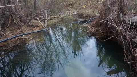 Коммунальщики начали вскрышные работы на магистральном водопроводе