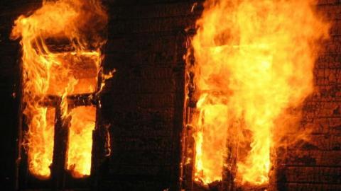 Летняя кухня и сарай горели в Красном Бойце