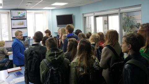 Учащимся рассказали о том, как вода поступает в дома жителей города