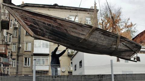 Саратовская «гулянка» впервые выставлена в музее