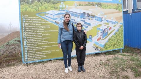 В Энгельсском Экотехнопарке проведена экскурсия для одного человека