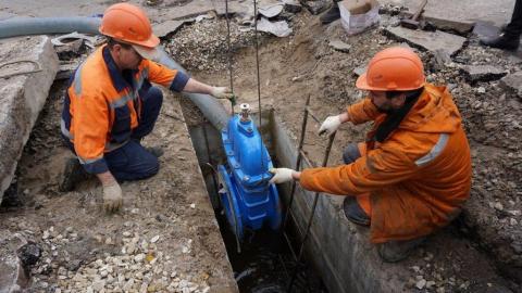 Концессия водоснабжения построит новую ветку водоотвода