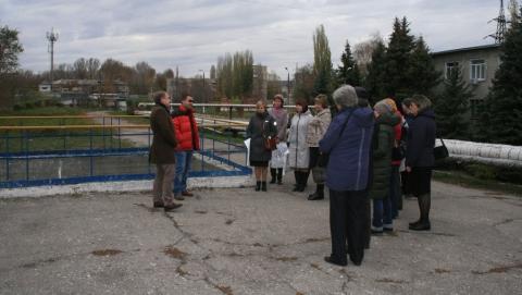 Учителя естественнонаучных дисциплин посетили городскую станцию аэрации