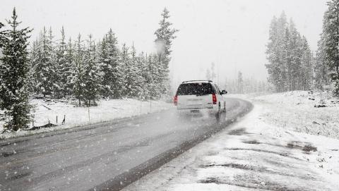 Гаишники советуют водителям психологически готовиться к зиме