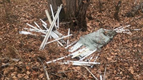 Рядом с Балаковом найдена шестая за месяц свалка ртутных ламп