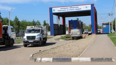 Самый длинный маршрут мусоровоза составляет 300 километров