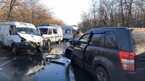 Двое детей пострадали в ДТП на Кумысной поляне